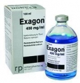 EXAGON 400mg/ml inj. 100ml