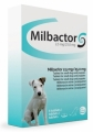 MILBACTOR Small dog  1-5kgr  1x48tabs